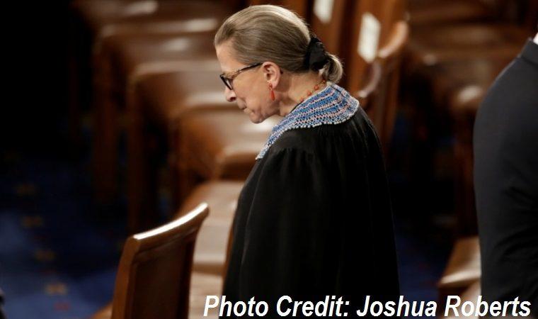 Justice Ruth Bader Ginsburg dies at 87.