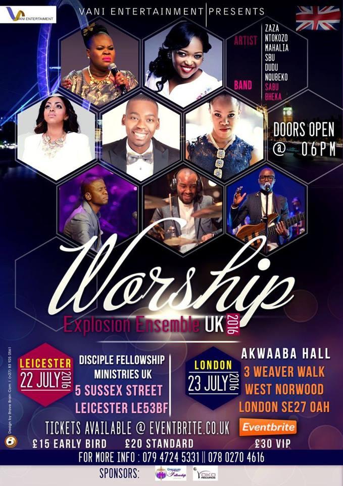 WORSHIP EXPLOSION UK 2016