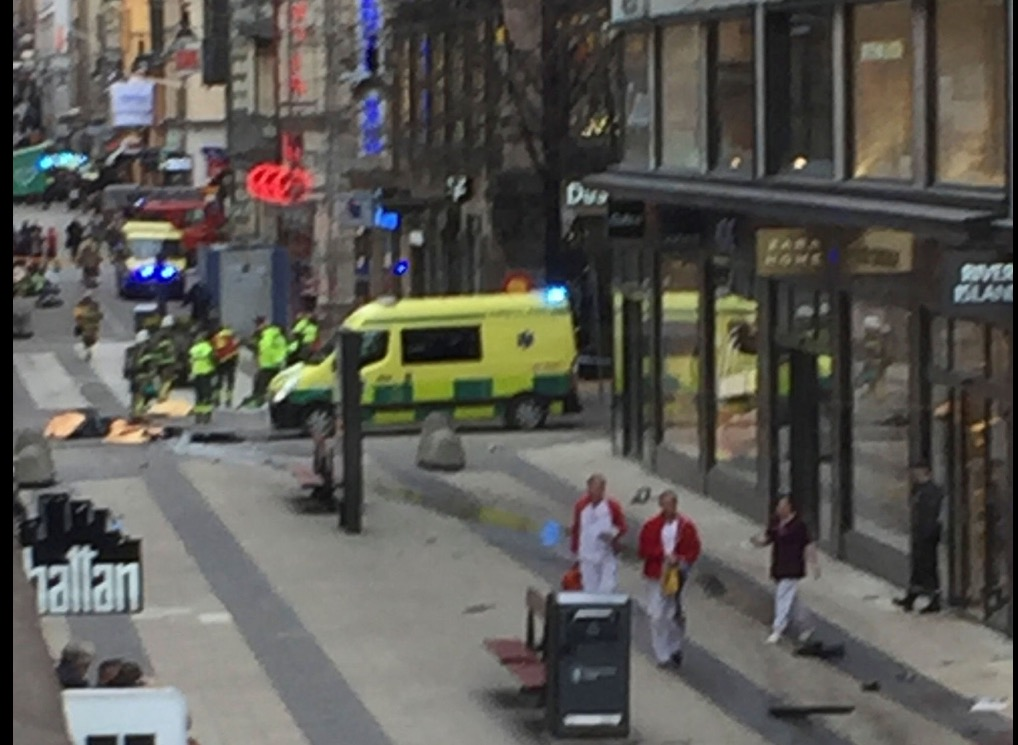 BREAKING: Shots fired and two dead in Stockholm sweden