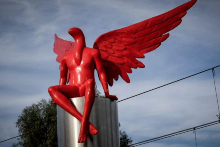 Is this Harmless art or satanic figure? Greek statue provokes outrage among Christians!