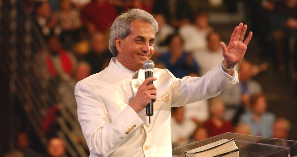 Benny Hinn Admits Going Too Far With Prosperity Gospel