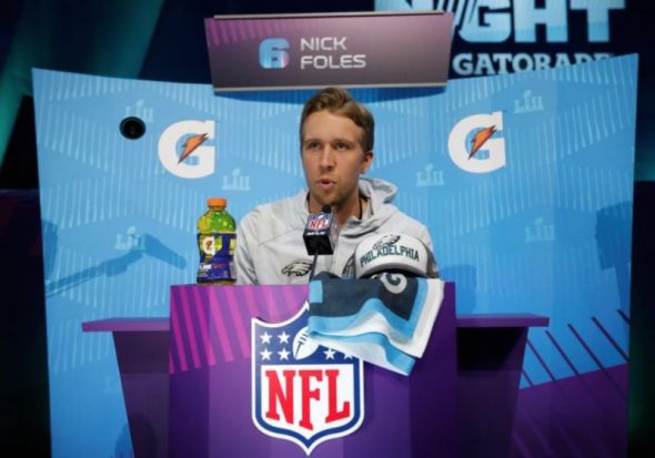 """I want to be a pastor in a high school,"" Says  Philadelphia Eagles quarterback Nick Foles"