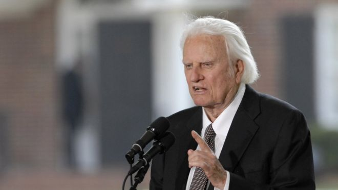 Billy Graham, One of the Most Influential Christian Evangelist's dies at 99