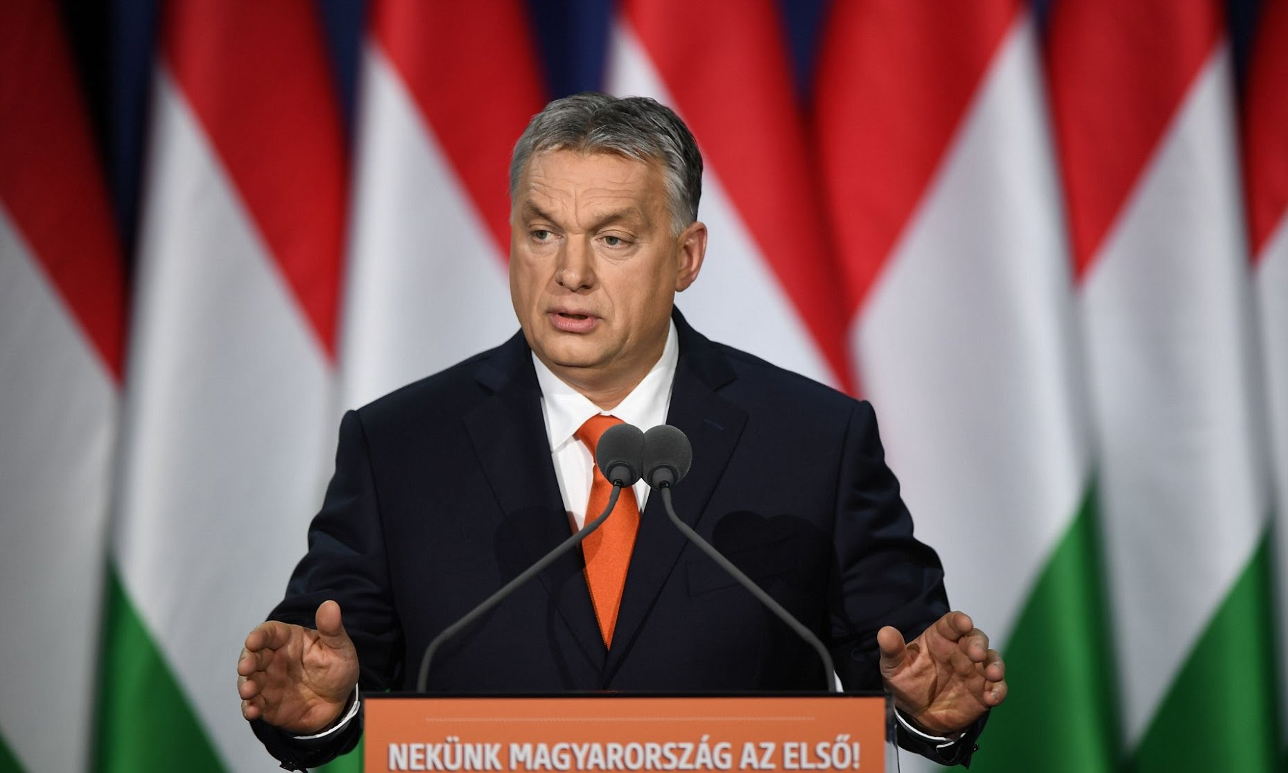 'Christianity is Europe's last hope' says Hungary's nationalist Prime Minister as he calls for renewed crackdown on extremism.