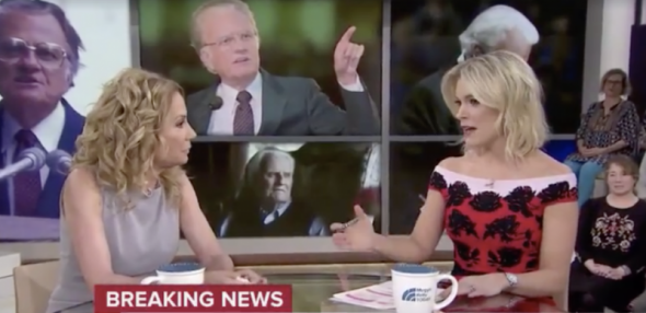 Megyn Kelly Says Kathie Lee Gifford Has Been Sharing Jesus With Her Behind Cameras!