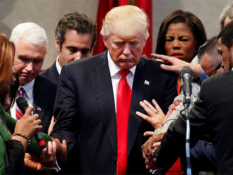 Evangelical Leaders To Overlook President Trump's Stormy Daniels Controversy