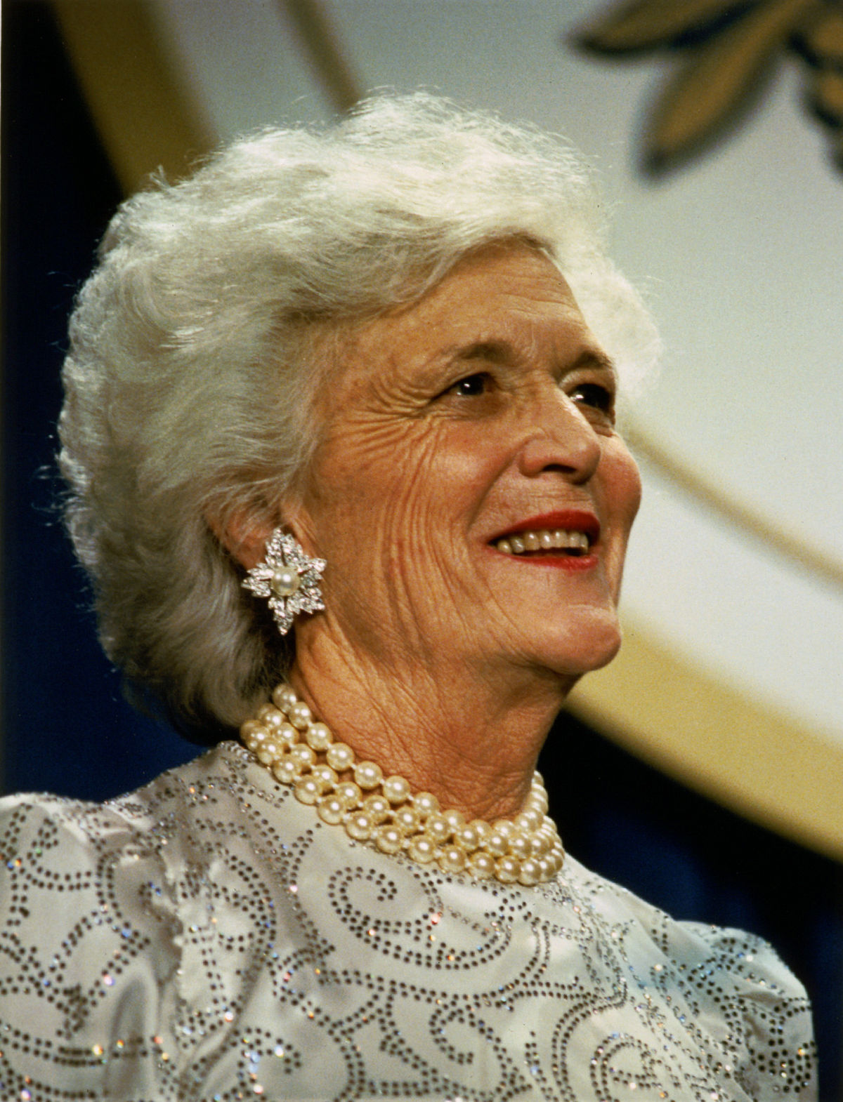 Paying Respect to Former First Lady Barbara Bush- R.I.P