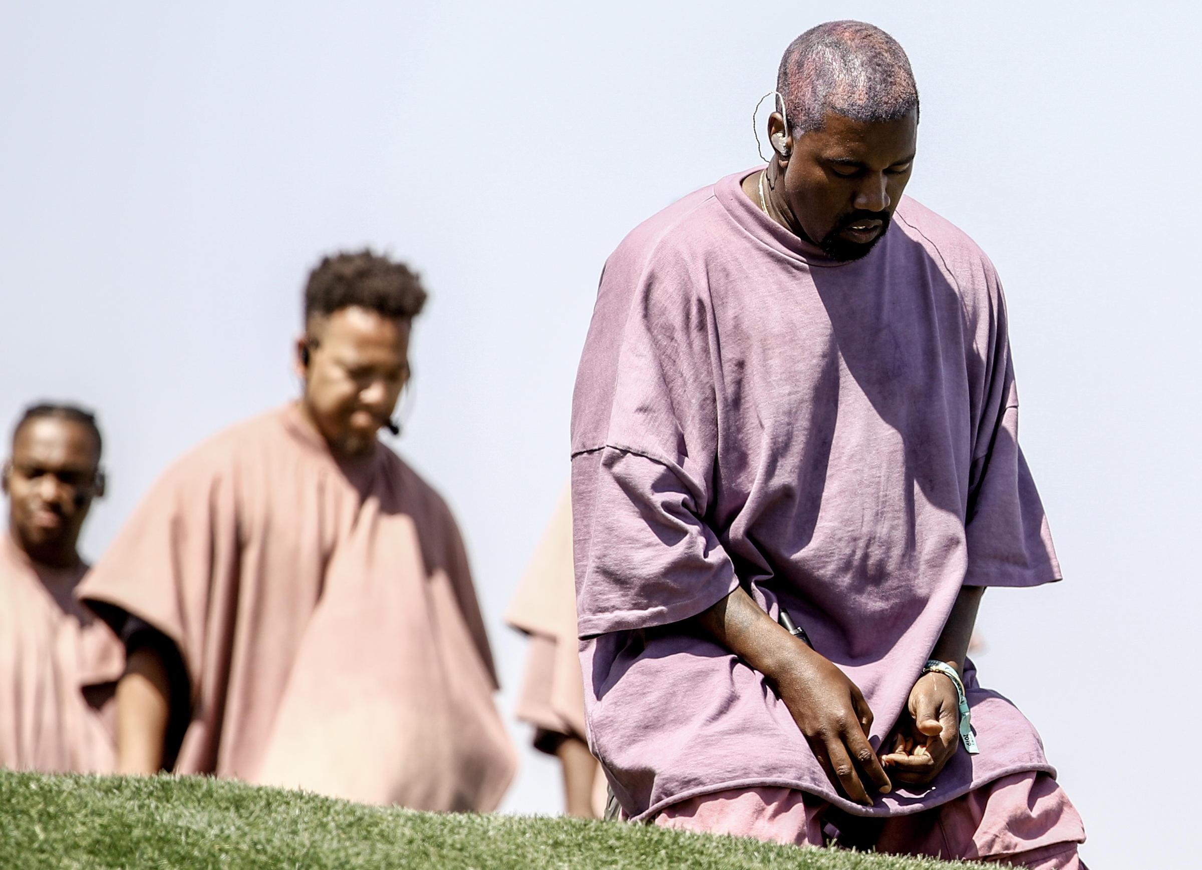 Kanye West releases new surprise Christian album 'Emmanuel'
