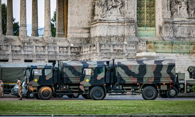 Italy Needs our Prayers 'A generation has died' Army Called Upon as Stricter Measures are Applied.