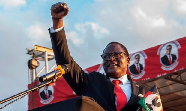Malawi's Bagged AOG Reverend Dr. Lazarus Chakwera as President Elect in Historic Election