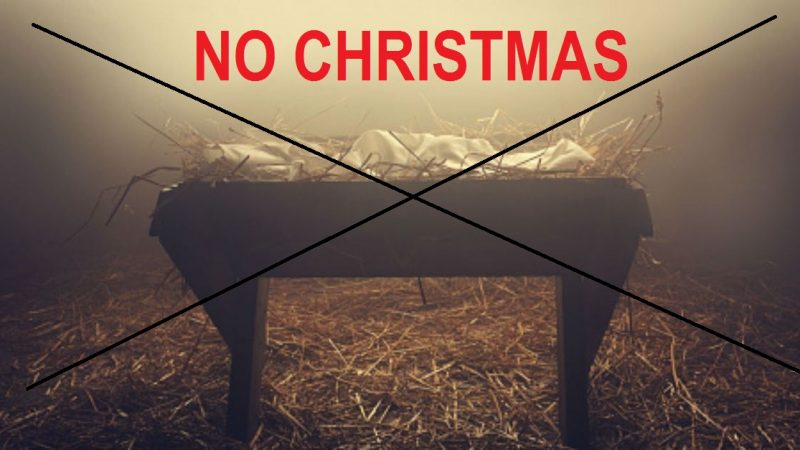 Chinese Communist Govt Tells Christians Not to Celebrate Christmas This Year