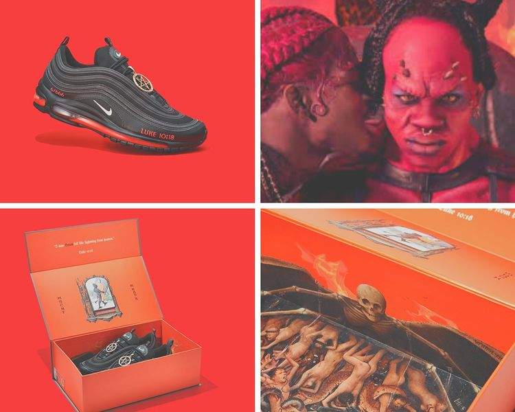 Lil Nas X and Nike Launch SATAN SNEAKERS – 666 Pairs – Real Human Blood!!
