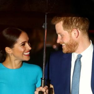 Harry and Meghan welcome baby daughter – with name to honour Queen and Diana