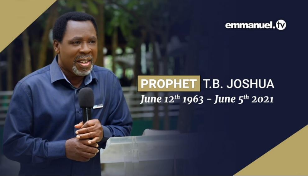 Nigerian megachurch preacher TB Joshua dies after church program